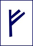 Rune Fehu - vee, voorspoed, welvaart