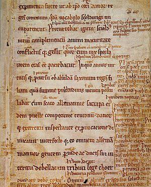 Gesta Danorum, angers fragment, blz 1