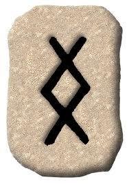 Rune Inguz schrijfvariant