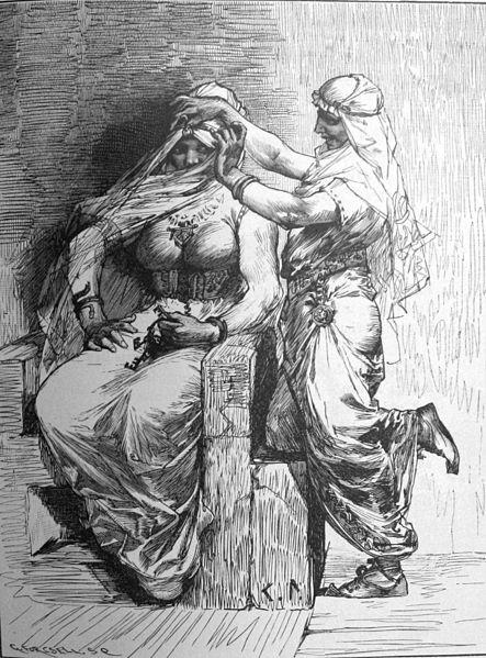 Thor verkleed als Freya