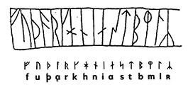 Jonge Futhark runen